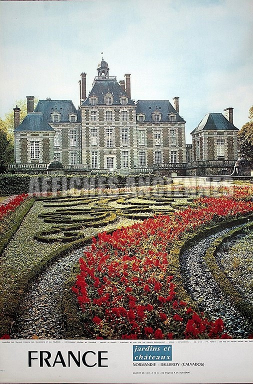 France Normandie chateau de Balleroy