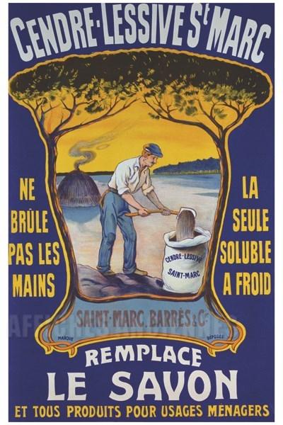 Lessive saint marc remplace le savon vintage poster bank th me hygi ne beaut thermalisme - Lessive saint marc utilisation ...