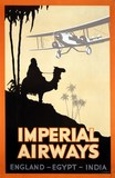 imperial airways avec chameau