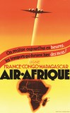 AIR AFRIQUE FRANCE CONGO MADAGASCAR