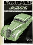 reproduction affiche panhard dynamic