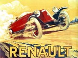 reproduction affiche ancienne renault