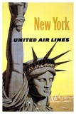 AFFICHE UNITED AIR LINES